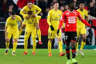 Pas de miracle pour le Stade Rennais FC face au Paris SG (1-4)