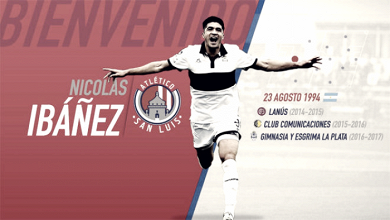 Nicolás Ibáñez ya puede ver acción con el Atlético de San Luis