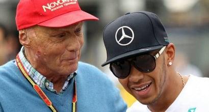 """F1, GP Azerbaijan - Niki Lauda: """"Oggi Hamilton impressionante"""""""