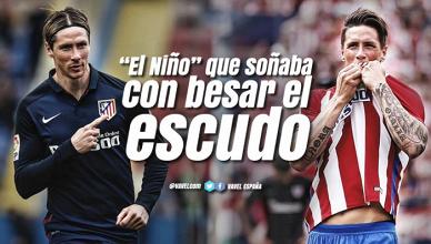 """Guía VAVEL Atlético de Madrid 2017/18: Fernando Torres, """"El Niño"""" que soñaba con besar el escudo"""