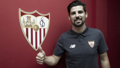 De volta à Espanha, Nolito mira títulos com Sevilla na próxima temporada