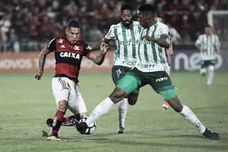 Diego perde pênalti, Flamengo empata com Palmeiras e chega ao terceiro jogo sem vitória