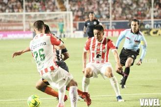 Necaxa se despide del torneo con empate ante Chivas