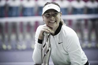 Sharapova firma una doble remontada para conquistar el título de Tianjin