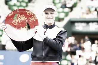 Wozniacki conquista Tokio para firmar una nueva marca personal