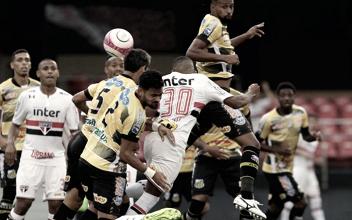 Na estreia de Diego Souza, São Paulo faz jogo trágico contra Novorizontino