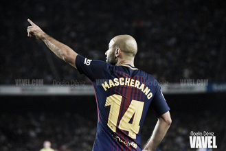 El Barça anuncia la despedida de Mascherano