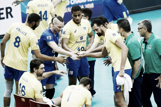 Em 'revanche' da Liga Mundial, Brasil bate França na estreia da Copa dos Campeões de Vôlei
