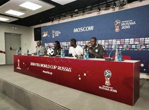 """Kouyaté: """"El equipo está preparado para jugar frente a Polonia"""""""
