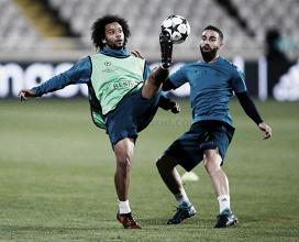 Última preparación antes de enfrentar al APOEL