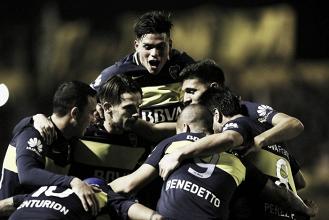 Em noite de festa, campeão antecipado Boca Juniors empata com Olimpo em Bahia Blanca