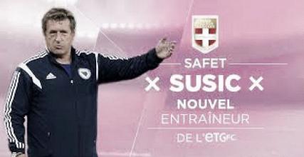 Safet Susic, nouvel entraîneur d'Evian Thonon Gaillard