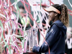 """Naomi Osaka: """"Estoy muy feliz por ganar mi primer título en Indian Wells"""""""