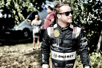 Mads Ostberg se cae del Rallye de Alemania