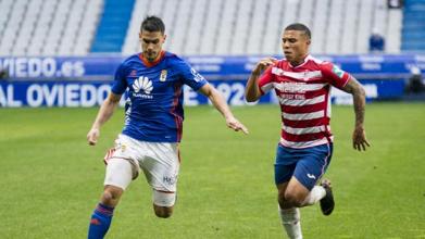 Resumen Oviedo 2-1 Granada en Segunda División 2017