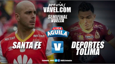 Previa Santa Fe vs Tolima: los 'cardenales' buscan en casa su paso a la final