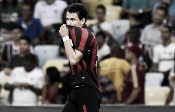 Autor do único gol do Atlético-PR contra o Flu, Pablo encerra jejum de 10 jogos sem marcar