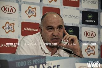 """Pablo Laso: """"Contra el CSKA es difícil centrarse en un solo jugador"""""""
