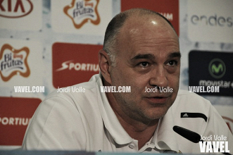 """Pablo Laso: """"Si queremos ganar el segundo partido debemos jugar mejor"""""""