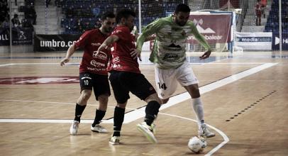 El portero-jugador condena a Palma Futsal
