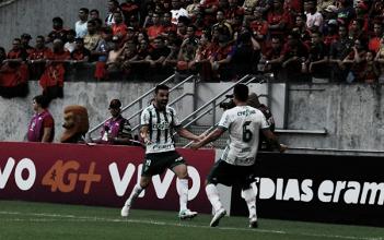 Com público recorde entre clubes na Arena de Pernambuco, Palmeiras bate Sport e fica no G-6
