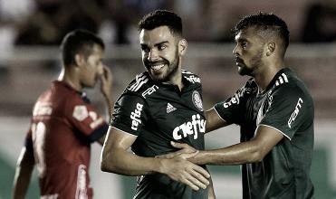 Sem dificuldades, Palmeiras vence amistoso contra Independiente Medellín na volta de Scarpa