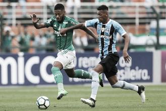 Palmeiras domina, vence Grêmio e emplaca quarta vitória seguida no Brasileirão