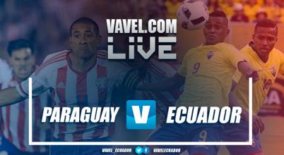 Paraguay extiende sus posibilidades de clasificación al vencer a Ecuador como local (2-1)