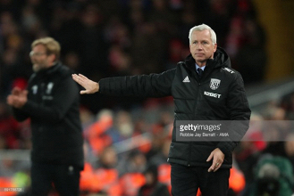 Pardew pleased with game-plan execution as West Brom take a point from Anfield