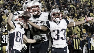 New England vence a Pittsburgh con un final dramático
