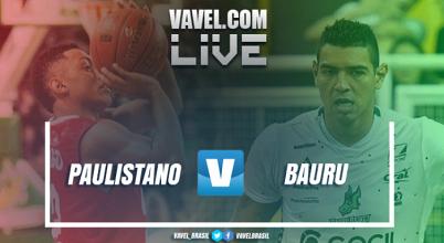 Jogo Paulistano x Bauru AO VIVO hoje na final do NBB