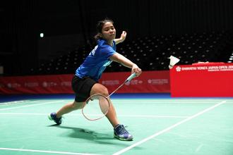 Tundukkan Wakil Tuan Rumah, Gregoria Melaju Ke Babak Kedua China Open