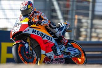 """MotoGp, Gp di Aragon. Pedrosa secondo in rimonta: """"Rossi però mi ha chiuso a 300 all'ora, non è stata una situazione piacevole!"""""""
