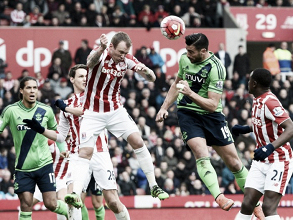 Stoke City 1-2 Southampton: Pelle double sees Potters drop home points