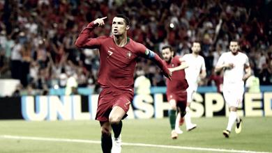 Ronaldo faz três, Nacho vai do inferno ao céu e Portugal e Espanha empatam em Sochi