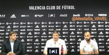 """Penev: """"Estoy ilusionado y centrado en el Mestalla"""""""
