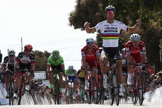 Giro di California, squillo di Sagan nella terza tappa