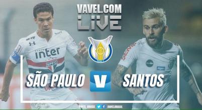 Resultado São Paulo x Santos pelo Campeonato Brasileiro 2017 (2-1)