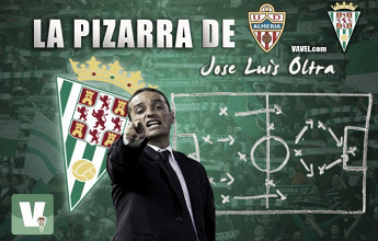 La pizarra de Oltra: UD Almería - Córdoba CF, los cambios no surtieron efecto