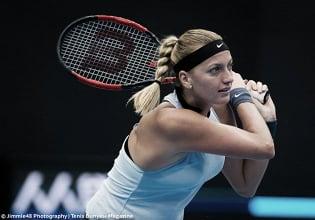 WTA Beijing: Petra Kvitova powers into the semifinals