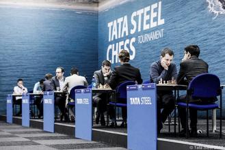 Tata Steel Chess 2017: blancas juegan y ganan