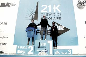 Borelli y Mastromarino campeones argentinos de Media Maratón
