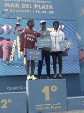 Póker de los atletas locales en la 28° Maratón Ciudad de Mar del Plata
