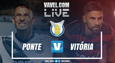 Resultado Ponte Preta x Vitória no Campeonato Brasileiro 2017 (2-3)