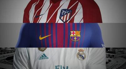 Confira os uniformes dos times da primeira divisão espanhola para temporada 2017/18