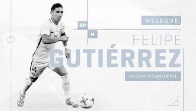 Felipe Gutiérrez buscará suerte en la MLS