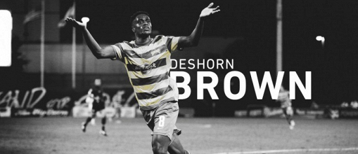 Deshorn Brown refuerza al DC United