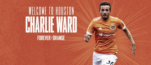 Houston Dynamo promociona a Ward