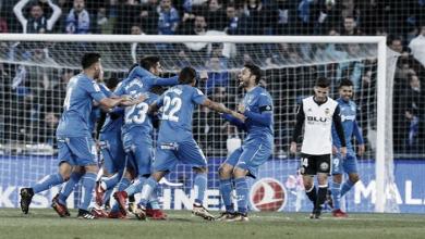 El Valencia pierde una oportunidad de oro en Getafe