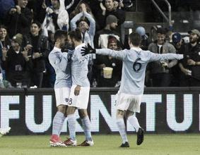 La pegada da la victoria a Sporting